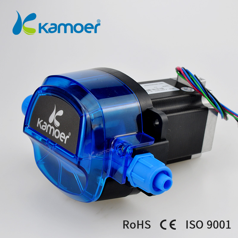 Kamoer new arriving KHL stepper motor peristaltic pump ( High precision ,12/24V Stepper motor ,1800ml/min) kcp3 small peristaltic pump with 24 v stepper motor aluminum alloy