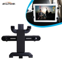 Car seat back headrest Tablet Mount Stand Holder Adjustable for 18.5-25.5cm Tablet in the car free shipping