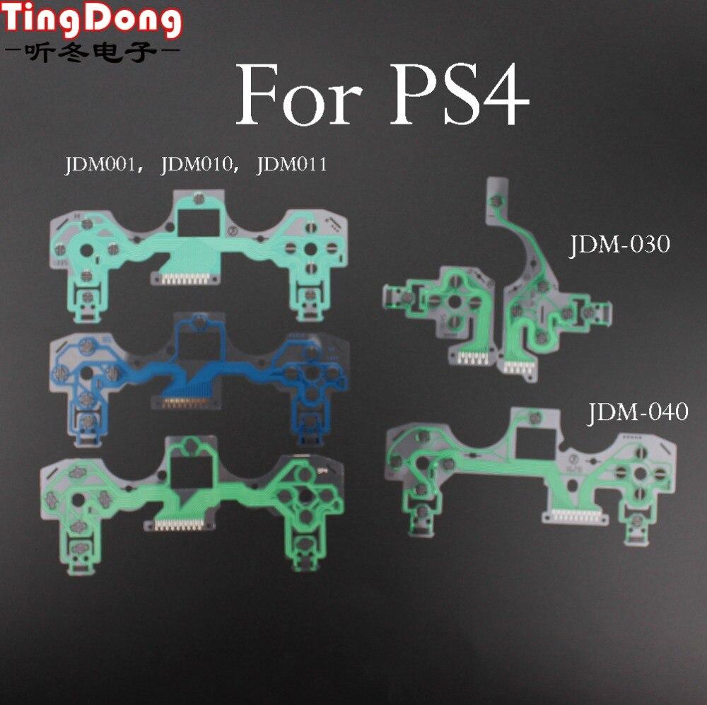 50 Pcs Conductive Film Keypad For Playstation 4 Ps4 Pro Slim Controller Repair Parts Pcb Ribbon Circuit Board M Type Ps2 Flex