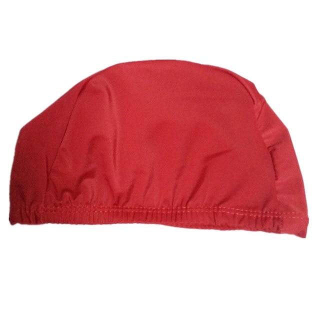 Fabric Long Hair Swimming Cap