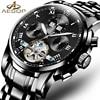 AESOP Fashion Watch Men Automatic Mechanical Wristwatch Shockproof Waterproof Hollow Male Clock Ceasuri Relogio Masculino Box