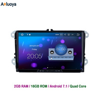 9 Inch 1024 600 Android 5 1 1 Car Radio DVD GPS For VW Volkswagen GOLF