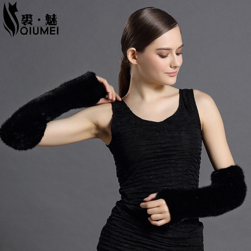 Women's Fur Mittens 2016 Girls Fashion s