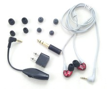 Brand SE535 Hi-fi stereo Headset SE 535 Noise Canceling 3.5MM In ear Earphones Separate Cable headset with Box VS SE215