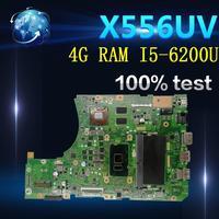 아마존 X556UR X556UF X556U 테스트 원래 메인 보드 4G RAM I5-6200U