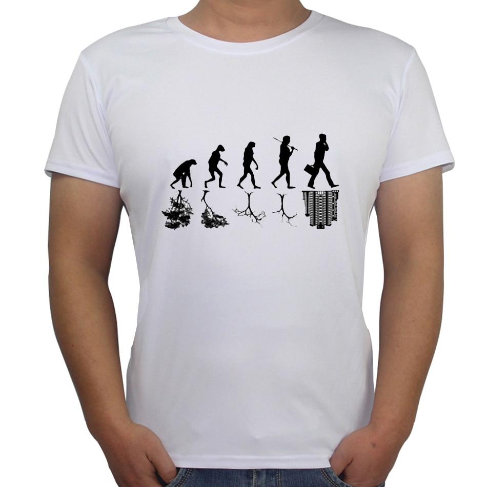 Shirts human design - Palace T Shirt Fashion Human Evolution Ape Changes Printed Men T Shirt Short Sleeve Funny Tee Shirts For Man Hipster O Neck Tops
