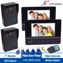 Wholesale New Wired 7 TFT Video font b Door b font Phone Intercom Entry System With