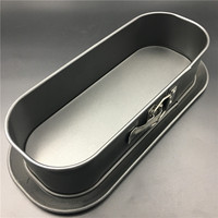 oval bottom with a lock at the end of live cake mold Baking Dishes Pan special oven mold Cake Pan