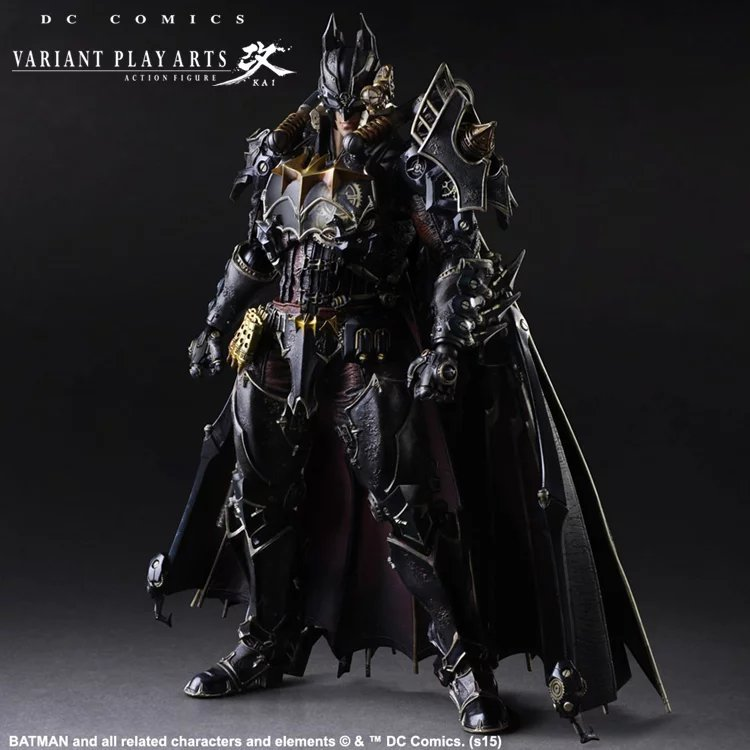 NEW hot 27cm batman Super hero Justice league Steampunk enhanced version action figure toys collection christmas toy doll