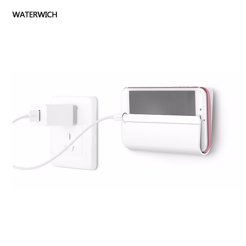 WATERWICH Universal Holder Stand For iPhone 6 Wall Mobile Phone Holder for Samsung Xiaomi Huawei iPad Tablet Stand Mount Holder ...
