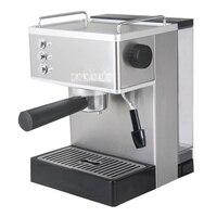 2.2L 19Bar полуавтоматический Кофе капучино Итальянский Эспрессо Кофе машины 304 Нержавеющаясталь Офис Применение 110 В/220 В