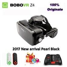 Originale Bobovr z4 vr casque 3d lunettes de réalité virtuelle VR lunettes Vitesse Bobo Z4 mini pour 4.7-6.2 pouce Smartphone