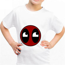NEW Deadpool b107 Kingdom Funny T-shirt Kids Baby Summer Cute Clothes Boys Girls Tops Deadpool T shirt(China)