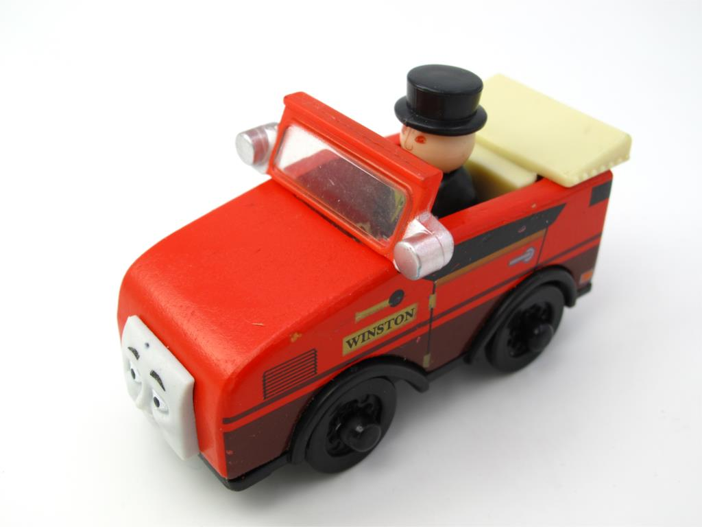 Wooden Thomas Train T140W WINSTON Thomas And Friends Trackmaster Magnetic Tomas Truck Locomotive Engine Railway Toys for Boys