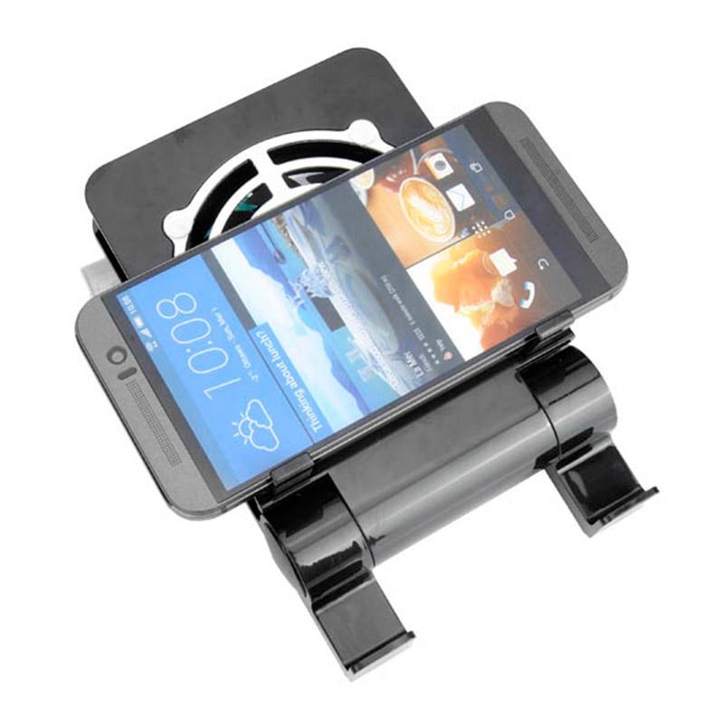 Универсальный рабочего мобильного телефона держатель + вентилятор радиатора Портативный складной Тетрадь Ноутбука Охладитель USB охлаждаю...