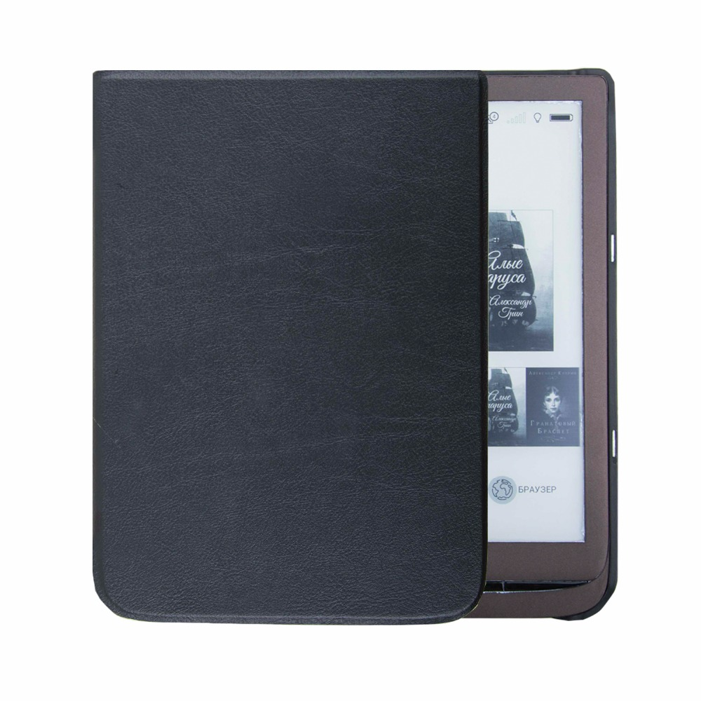 US $195 0  Folio fund cover case for pocketbook inkpad 3 reader inkpad 740  cover case-in Tablets & e-Books Case from Computer & Office on