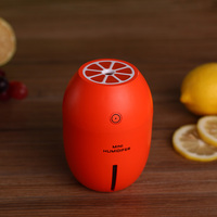 Creative Lemon Style USB Ultrasonic Humidifier With Colorful Led Light Essential Oil Aroma Diffuser Auto Off