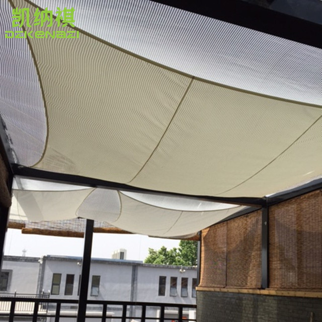 Free Shipping 3 X 3 M Square Patio Sun Sun Shade Sail Combination PU  Fabrics Waterproof