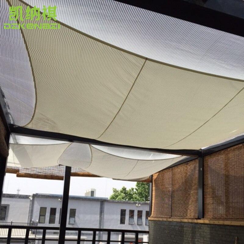 Lovely Free Shipping 3 X 3 M Square Patio Sun Sun Shade Sail Combination PU  Fabrics Waterproof
