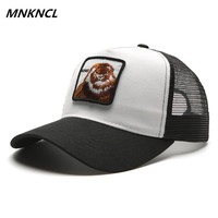 Unisex Fashion Drake Hat For Men And Women Breathable Mesh Lion Embroidery Baseball Caps Snapback Hip