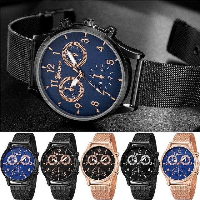 30 M Wodoodporne Męskie Zegarki Top Marka Luksusowy Zegarek Ze Stali Nierdzewnej Mężczyzna Prezent Relogio Masculino Kwarcowy Zegarek Zniżki #4M29 # F