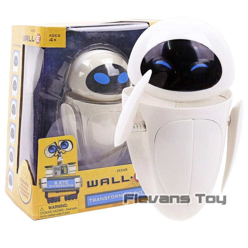 WALL E EVE PVC figurine à collectionner modèle jouet cadeau d'anniversaire de noël pour enfants enfants (visage peut changé)