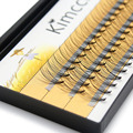 Kimcci 60pcs Natural Long Individual Cluster Eyelash Extension Professional 10D Mink False Eyelashes Makeup Faux Soft Eye Lashes