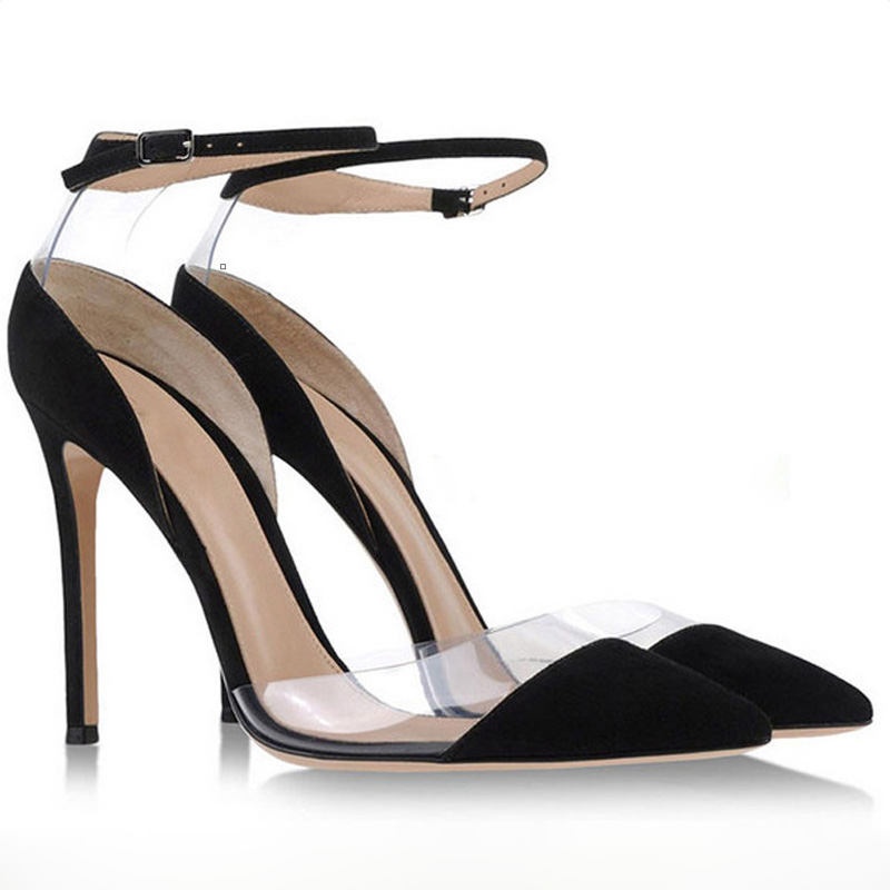 Womens sandals summer 2016 mixed colors pointed toe high heels leather transparent pumps buckle sandalias woman daily shoes dijigirls pointed toe sexy new women s high heels transparent buckle mixed colors stilettos sandals ladies pumps woman shoes