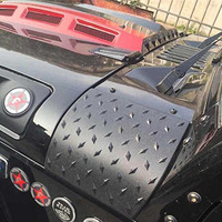 2 Pcs ABS Car Body Armor Side Cowl Cover For JEEP WRANGLER 2 4 Door Unlimited