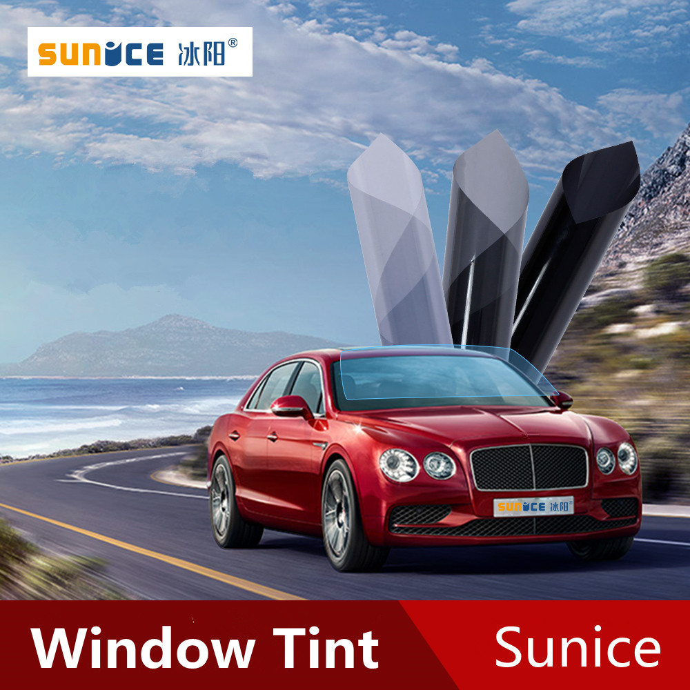 Image 5 - SUNICE Sputter Solar Tint Film Sun Control Film Heat Insulation Photochromic Film VLT Changed 73%~43% Car Building Summer Use-in Window Foils from Automobiles & Motorcycles