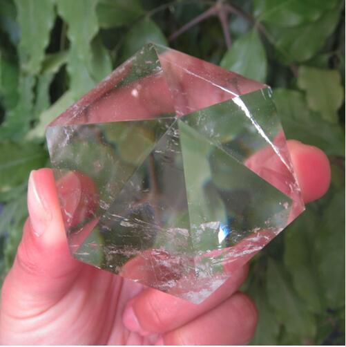 Nuovo Tipo Piramide Esagonale 6 Fronte 5 cm Naturale Chiaro Quarzo Cristallo Piramide Guarigione Reiki Cap Piramide Trasporto Libero All'ingrosso