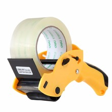 60mm Packing Tape Gun Easy To Tape Boxes, Seal Cartons, Easy Side Loading, Best Tape Dispenser for Shipping, Pack ; Random Color