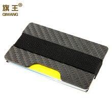 Carbon credit fiber durable real pocket slim luxury purse wallet card