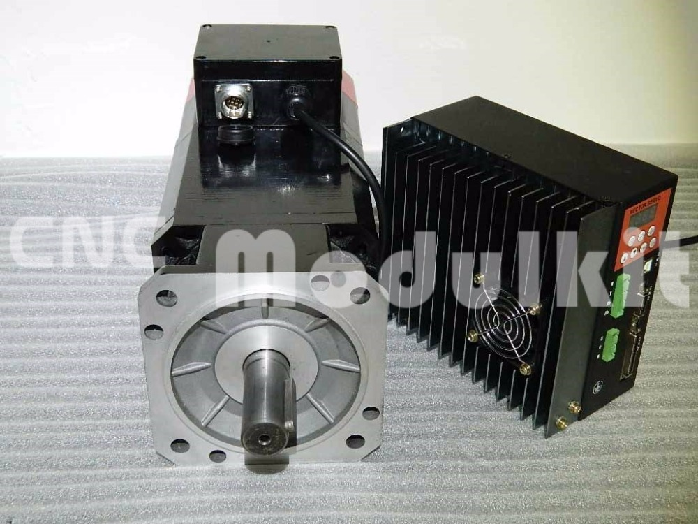 Industrial servo spindle control system 2 2kw kit motor for Industrial servo motor price