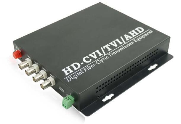 Fiber AHD/CVI/TVI 3in1 optik verici/fiber extender/4ch HD 1080 p, FC, tekli, Singlefiber 20 kmFiber AHD/CVI/TVI 3in1 optik verici/fiber extender/4ch HD 1080 p, FC, tekli, Singlefiber 20 km
