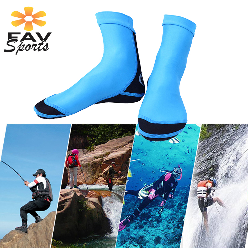 5MM Neoprene Men Women Diving Shoes Scuba Snorkeling Water Boots Slip On Surf