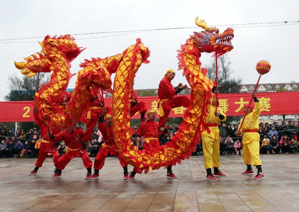 china dragon dance 10m 5joint 6 player brand new dragon dance party celebration christmas festival china spring holidays in other sports entertainment - Do They Celebrate Christmas In China