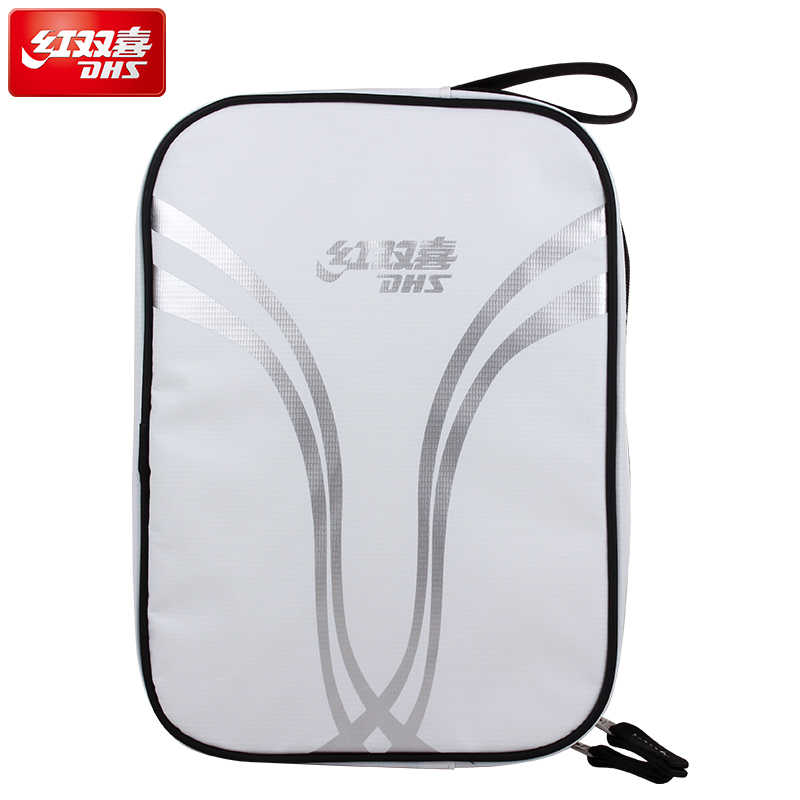 DHS Square Table Tennis Bag (Waterproof, Single Layer) Top Quality Ping Pong Case Tenis De Mesa