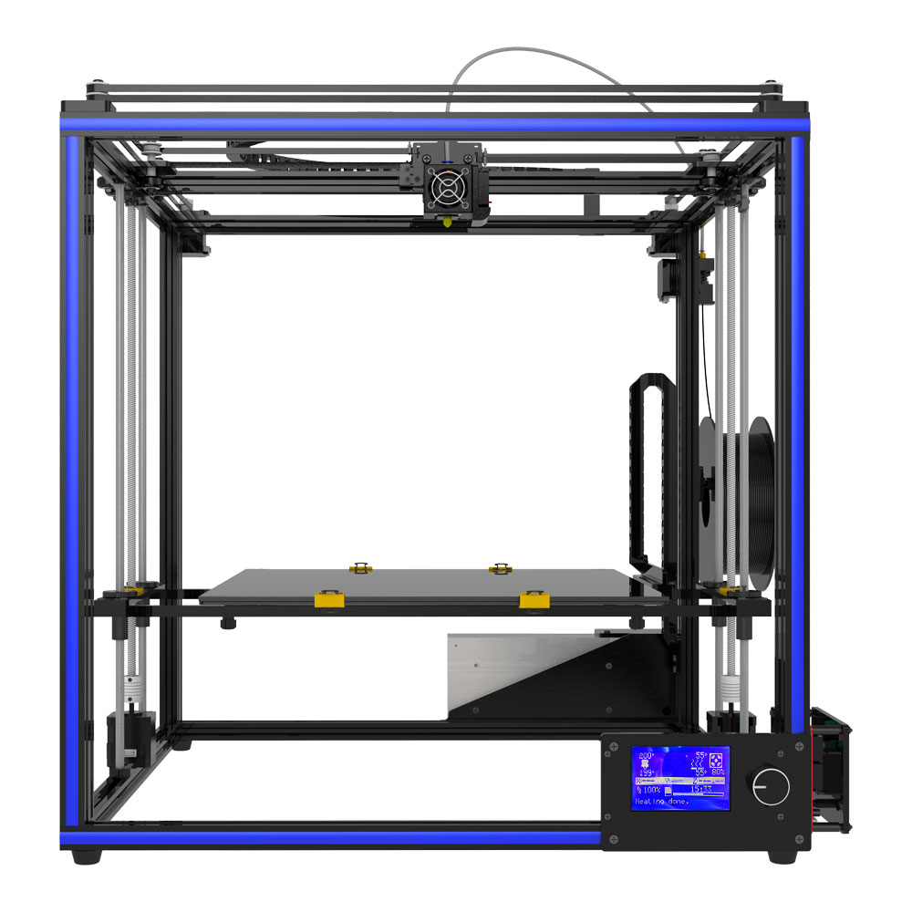 Tronxy 2018 NEW X5S-400 3D printer Big Size hotbed printing 400*400*400mm High quality with PLA filament tronxy 1 75mm pla filament for 3d printer
