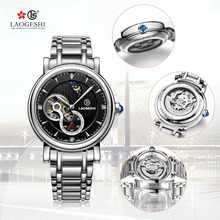 Top Brand Luxury Casual Waterproof Sports Mechanical Watches Men Full Stainless Steel Watch Military Tourbillon Wristwatch