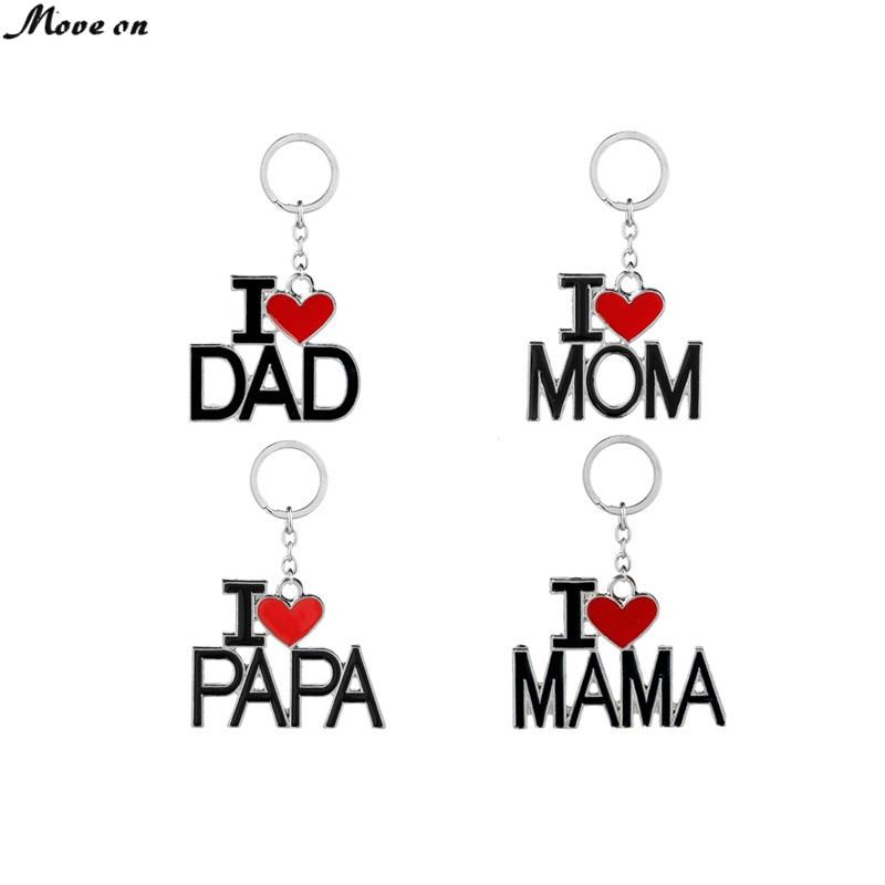 J/'aime mon papa Porte-clés-Père /'s Jour Cadeau
