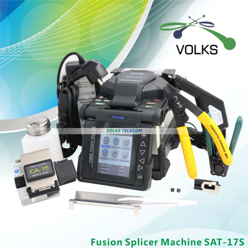 SAT 17S Fusion splicer Automatic Intelligent Optical Fiber Fusion Splicer