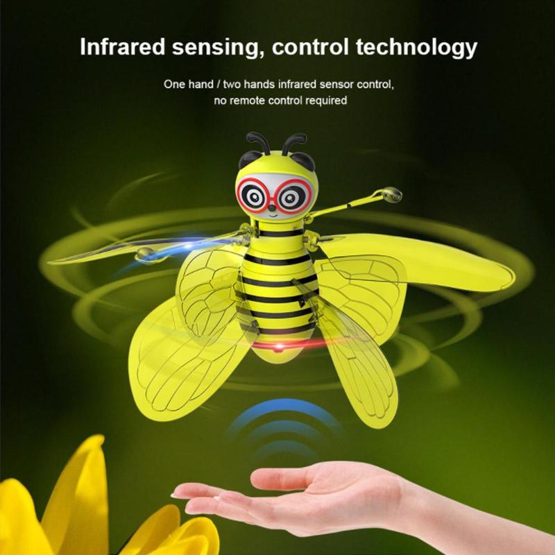 Balle volante lumineux enfant vol balles électronique infrarouge Induction avion télécommande jouets Mini hélicoptère enfants cadeau