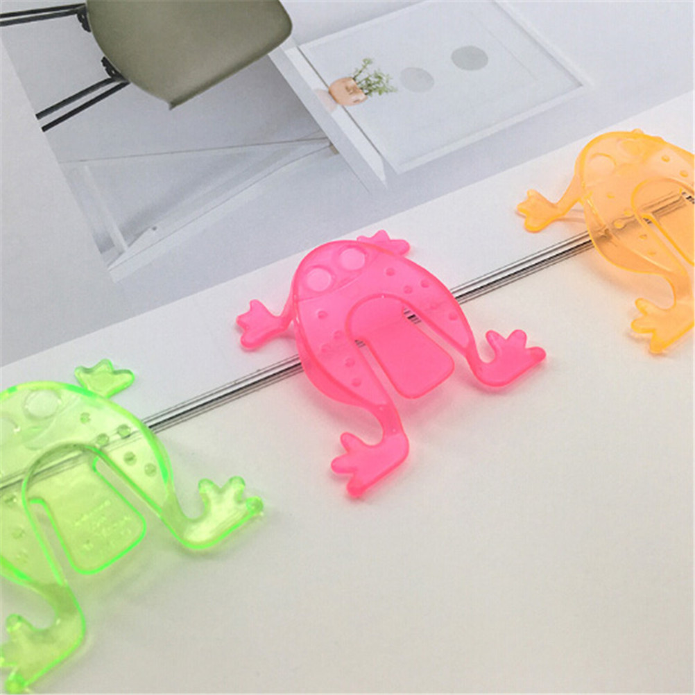 10PCS Jumping Frog Hoppers Game Kids Party Favor Kids Birthday Party Toys ER