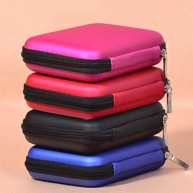 2.5 Inch External USB Hard Drive Disk Carry Case Cover Pouch Bag for SSD HDD