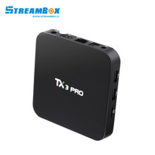 hottest android ott tv box TX3 PRO Amlogic s905x ddr3 1G+8G FLSH support iptv server with wifi kodi