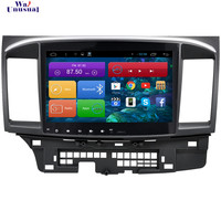 WANUSUAL 10.2 Inch Android 6.0 Car Multimedia Player GPS for Mitsubishi Lancer 2008 2009 2010 2011 2012 2013 2014 2015 2016 2017