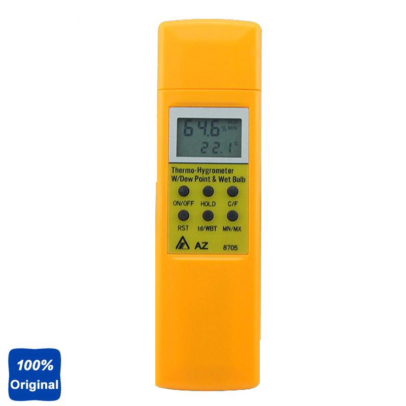 Hygrometer Temperature and Humidity Meter Tester AZ8705 temperature and humidity sensor protective shell sht10 protective sleeve sht20 flue cured tobacco high humidity