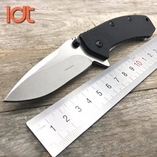 LDT Cryo 1555 Folding Knife 8Cr13Mov Blade Steel Handle Camping Survival Hunting Knives Outdoor Pocket Utility Knife EDC Tool