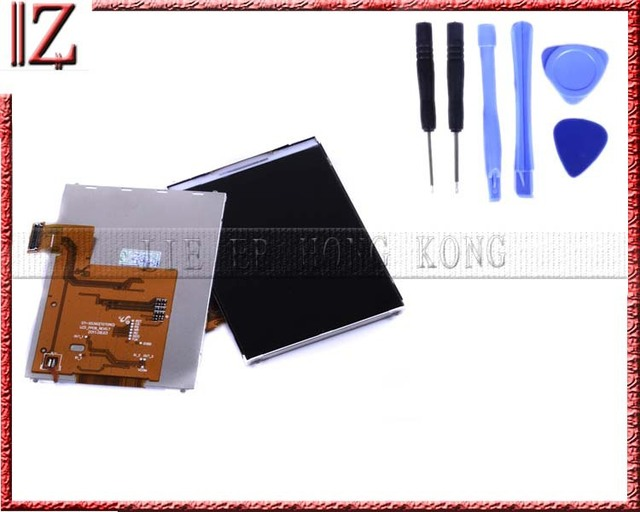 100% Tested lcd screen digitizer for samsung S5360 lcd display High Quality MOQ 5pcs free shipping china post 15-26days +tool